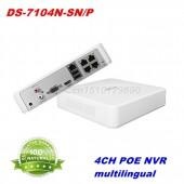 HIKVISION NVR DS-7104N-SN/P form